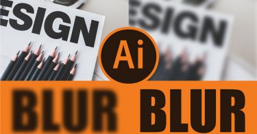 How to Blur In Illustrator
