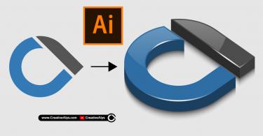 3D-glossy-logo-illustrator-tutorial