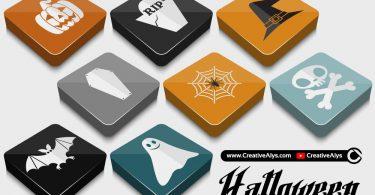 halloween-3D-glossy-vectors