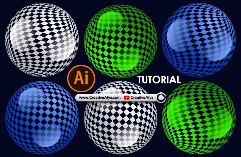 3D-Discoballs-with-Square-Patterns