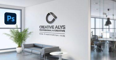 Office-Wall-Logo-Mockup