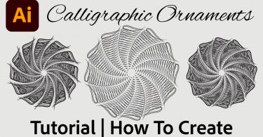 calligraphic-ornament-illustrator